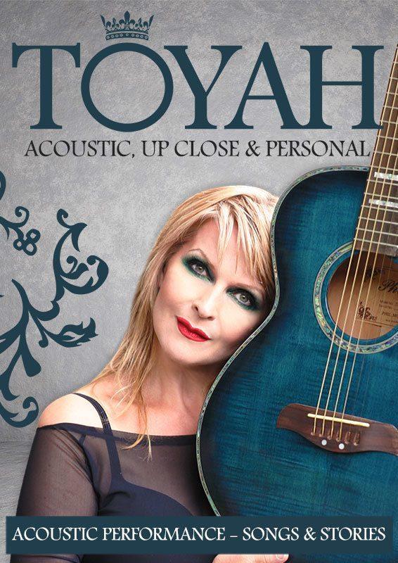 Toyah Live Acoustic Performances