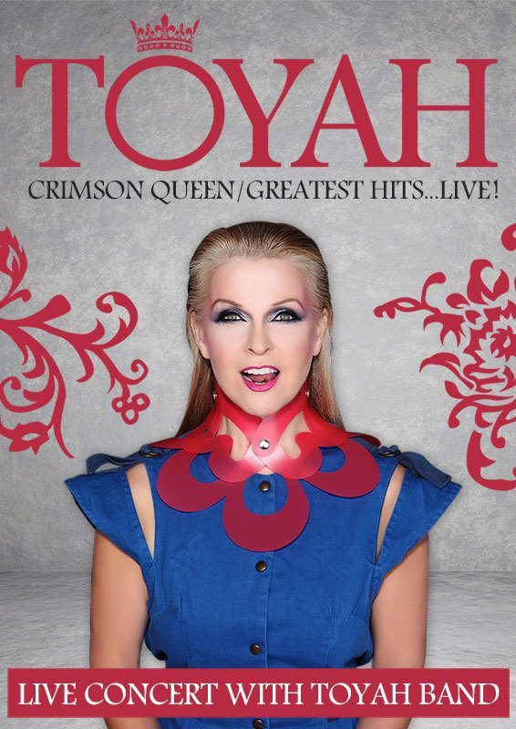 Toyah Crimson Queen Greatest Hits Live-Poster