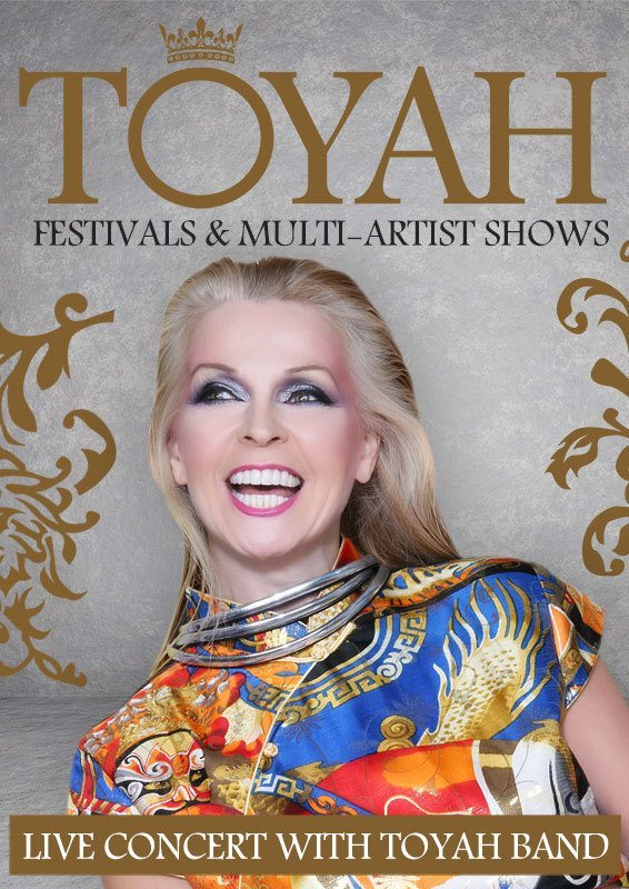 Festivals with Toyah Band