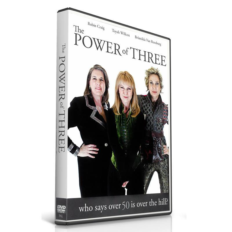 Power Of Three DVD Toyah Willcox
