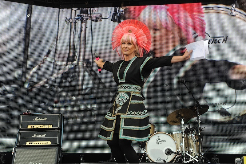 toyah @ rewind scotland 2015 by dod morrison photography